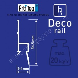 Artiteq CX 213 kroonlijst classic  200 cm
