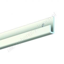 Artiteq J-Rail Classic - 200cm (incl. alle schroeven en pluggen)
