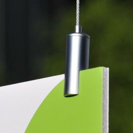 GeckoTeq zelf remmende materialen klem voor panelen tot 5 mm