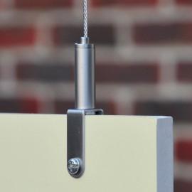 GeckoTeq zelf remmende materialen klem voor panelen tot 10 mm