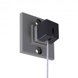 Stas Qubic Pro Hanger (Set) incl. 200cm draad, Eindkap, schroef en plug
