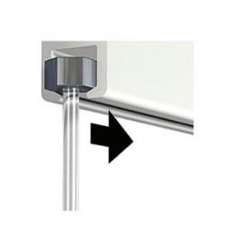 Artiteq Minihaak - 4kg + Perlondraad met Glijder - 150cm (Set)