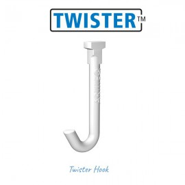 Artiteq Witte Twister Haak - 1kg