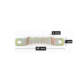 Sägezahnanhänger 48mm mit 2 Schrauben - 7kg