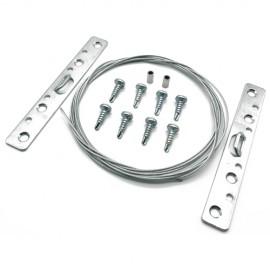 GeckoTeq Stahldrahtset für Lackieraufhängungssystem 8