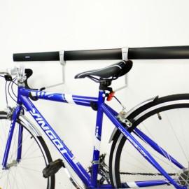 GeckoTeq Duratrax - Horizontaler Fahrradhaken 2 Stück GSH12