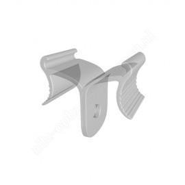 GeckoTeq Deckenklammer Glasklar - 5kg
