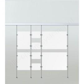 Artiteq display-it kunststof klem