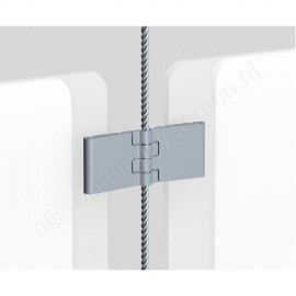 Artiteq display-it e-clip los - aluminium