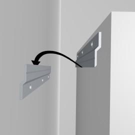 GeckoTeq Z Bar Cleat Systeem Aufhänger - pro Satz