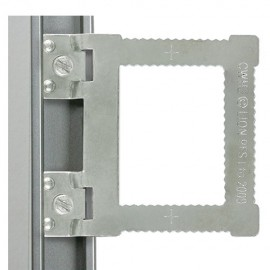 GeckoTeq Einschraubbügel für Aluminiumrahmen – pro Stuck