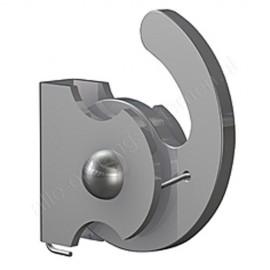Artiteq klemhaak 4x4mm staal - 100kg