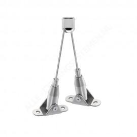GeckoTeq LED & Akustik Panel Hänge Set 3 - Stahl 15kg