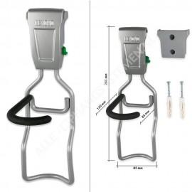 Fahrrad Aufhängungssysteme Set für 1 Fahrrad inkl. Wandschutz - GSH120