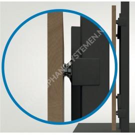 GeckoTeq Click-Clip-Panel-Steckverbinder System - Set