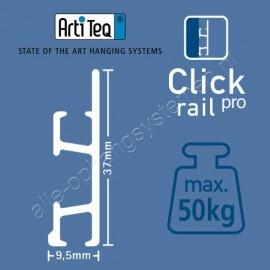 Artiteq click rail pro 200cm